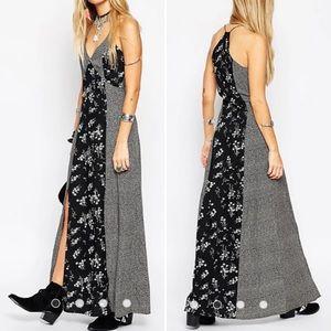 ASOS TALL Maxi Dress in Mixed Ditsy Print
